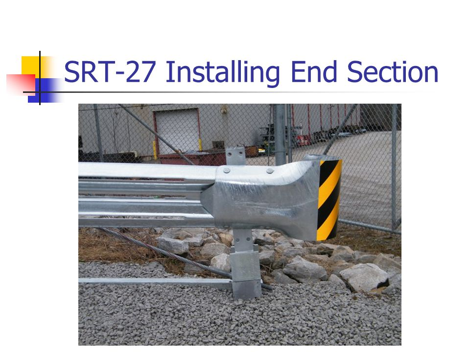 SRT-27 Installing End Section