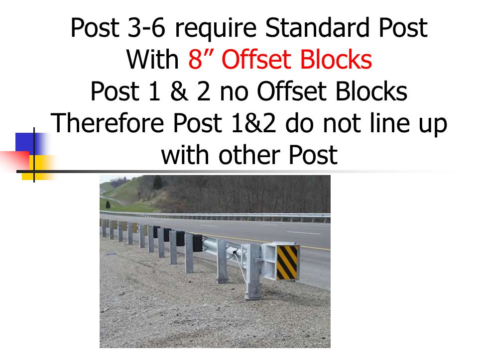 Therefore Post 1&2 do not line up with other Post