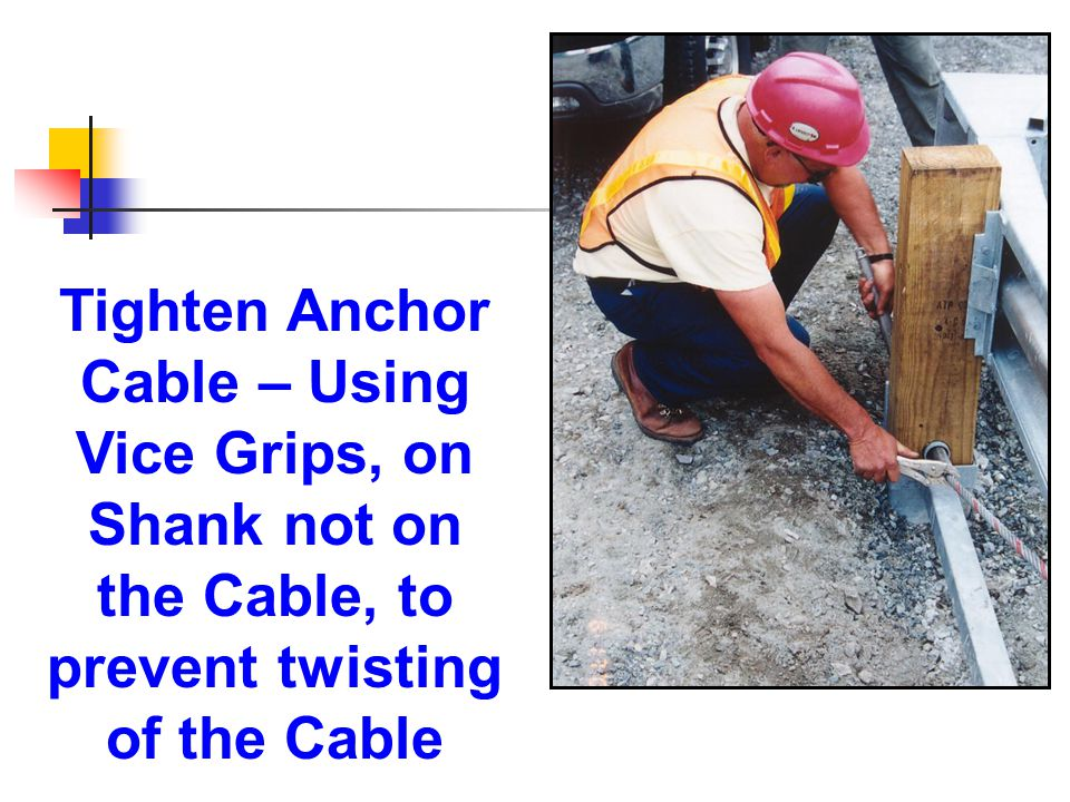 Tighten Anchor Cable – Using.