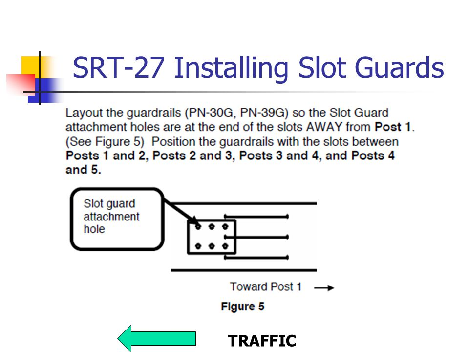 SRT-27 Installing Slot Guards