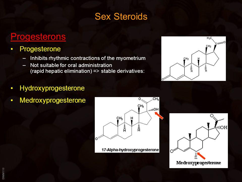 Sex Steroids Progesterons Progesterone Hydroxyprogesterone