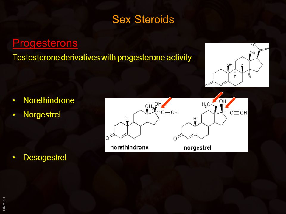 Sex Steroids Progesterons