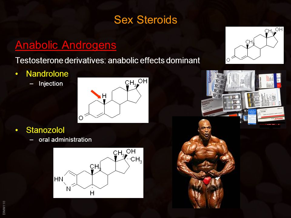 Sex Steroids Anabolic Androgens