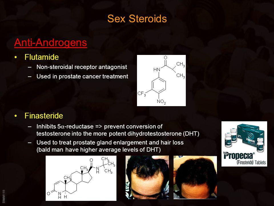 Sex Steroids Anti-Androgens Flutamide Finasteride