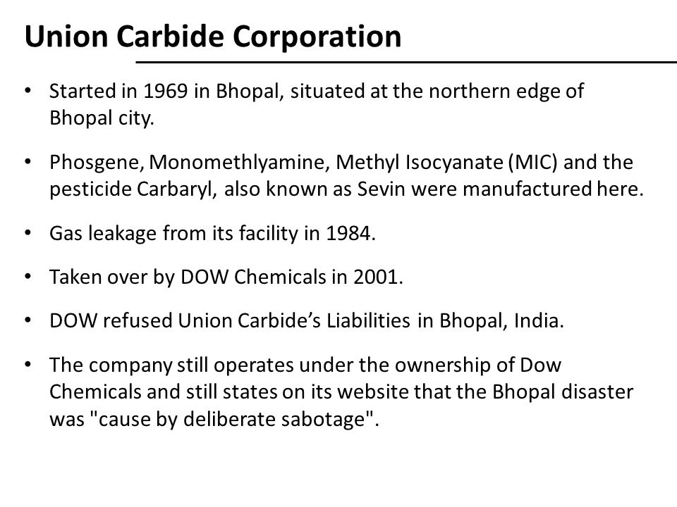 Union Carbide Corporation