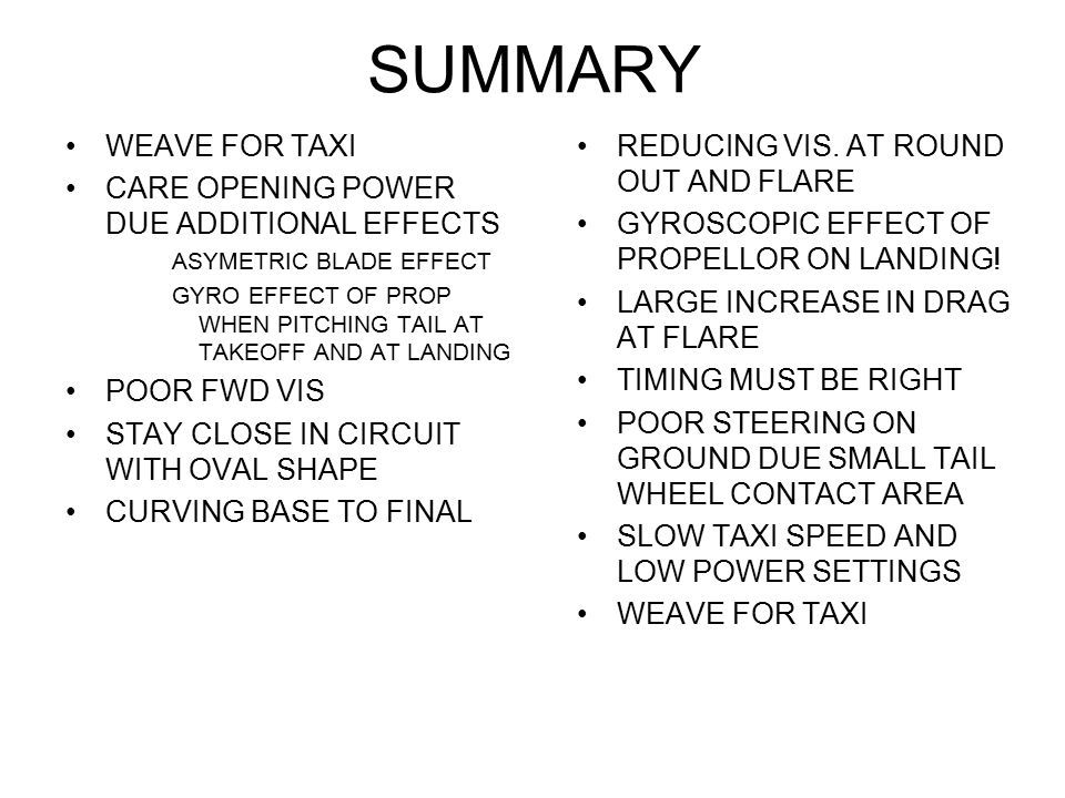SUMMARY WEAVE FOR TAXI CARE OPENING POWER DUE ADDITIONAL EFFECTS