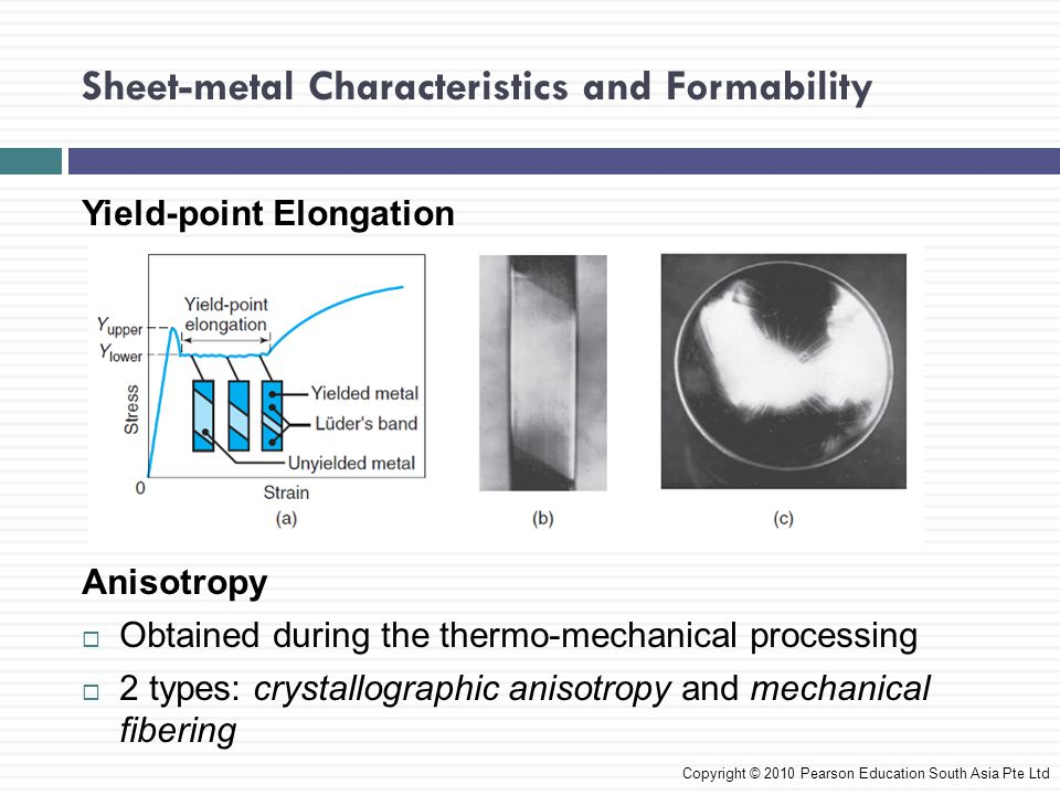 Sheet-metal Characteristics and Formability