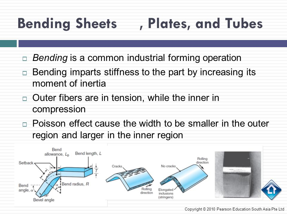 Bending Sheets , Plates, and Tubes