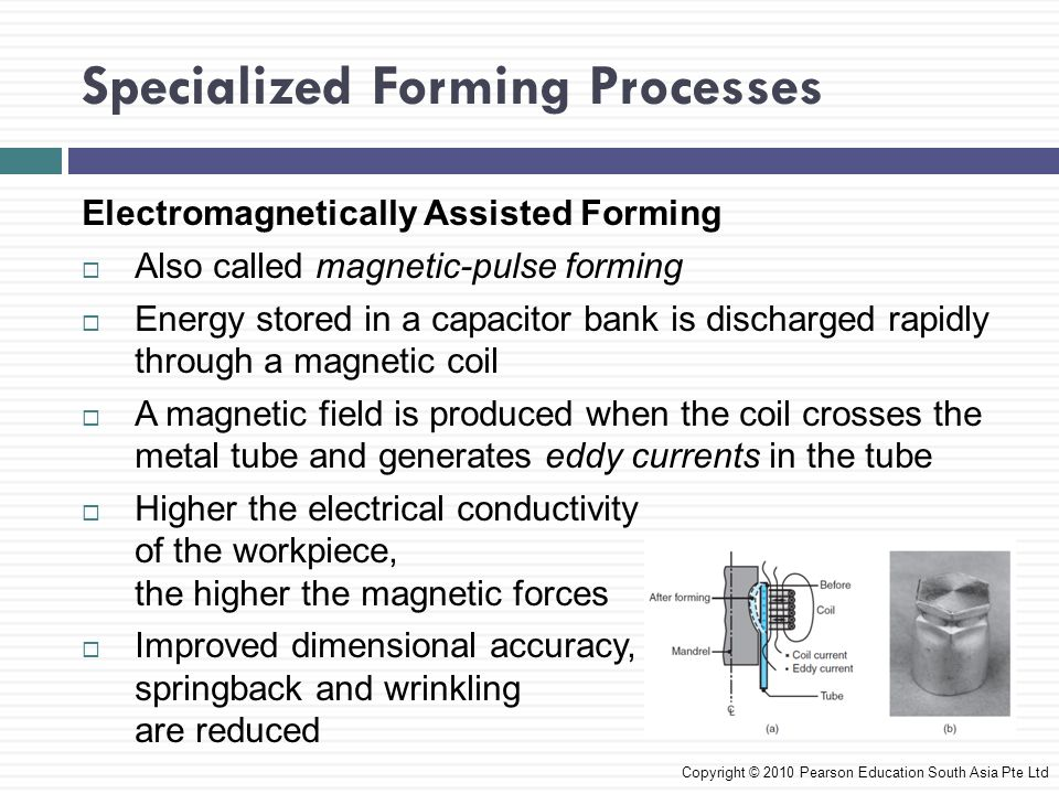 Specialized Forming Processes