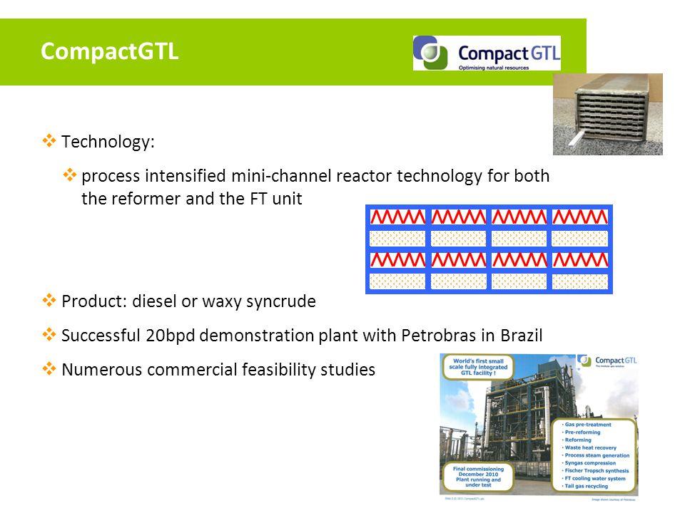 CompactGTL Technology: