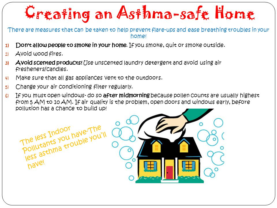 Creating an Asthma-safe Home