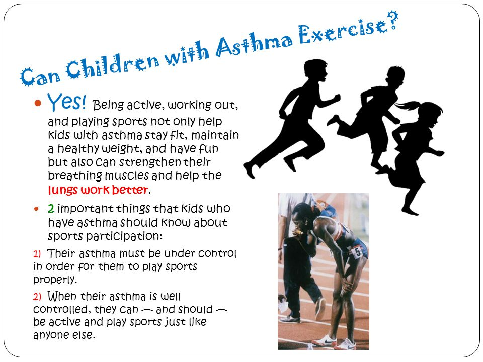Can Children with Asthma Exercise