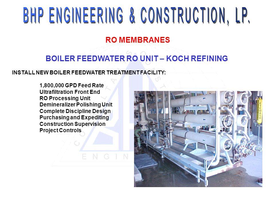 BHP ENGINEERING & CONSTRUCTION, LP.