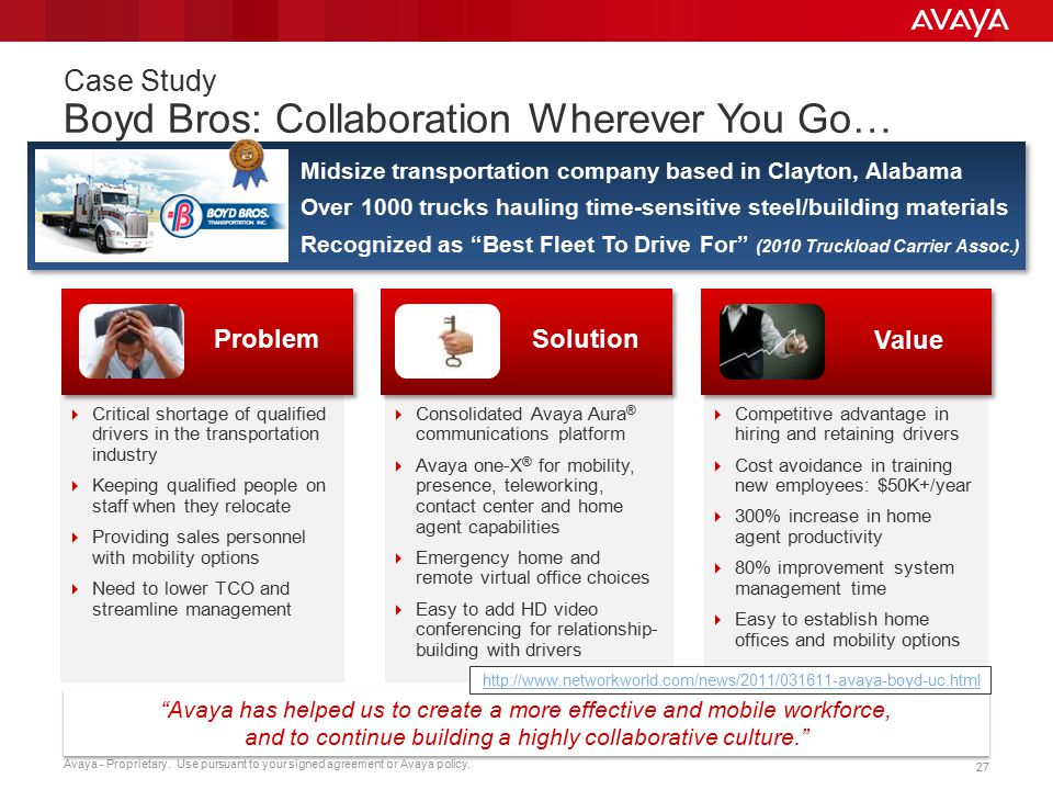 Case Study Boyd Bros: Collaboration Wherever You Go…