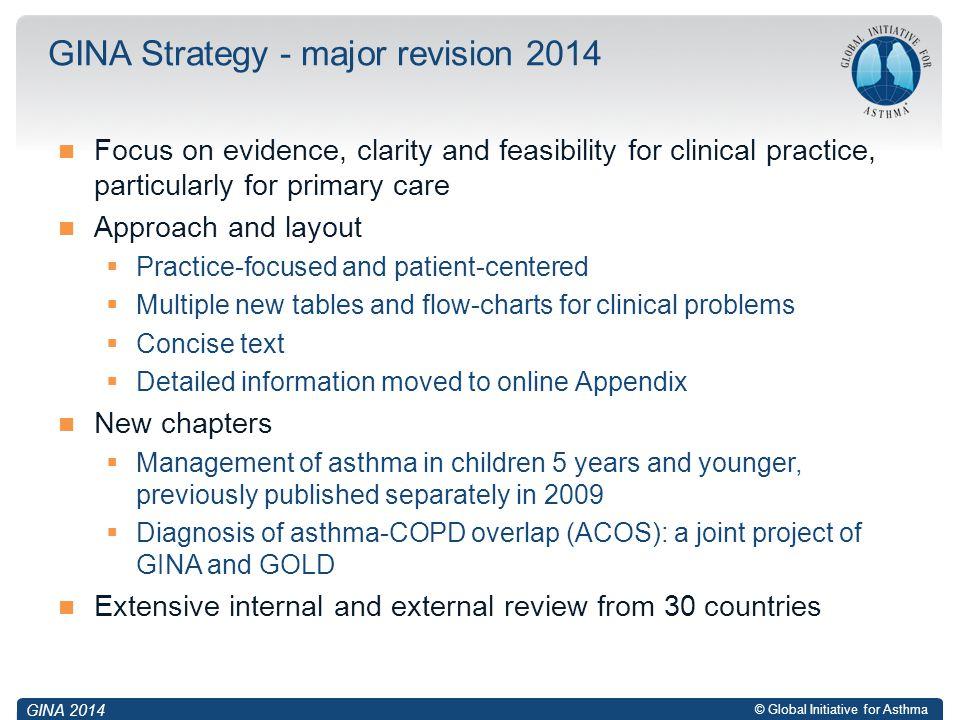 GINA Strategy - major revision 2014