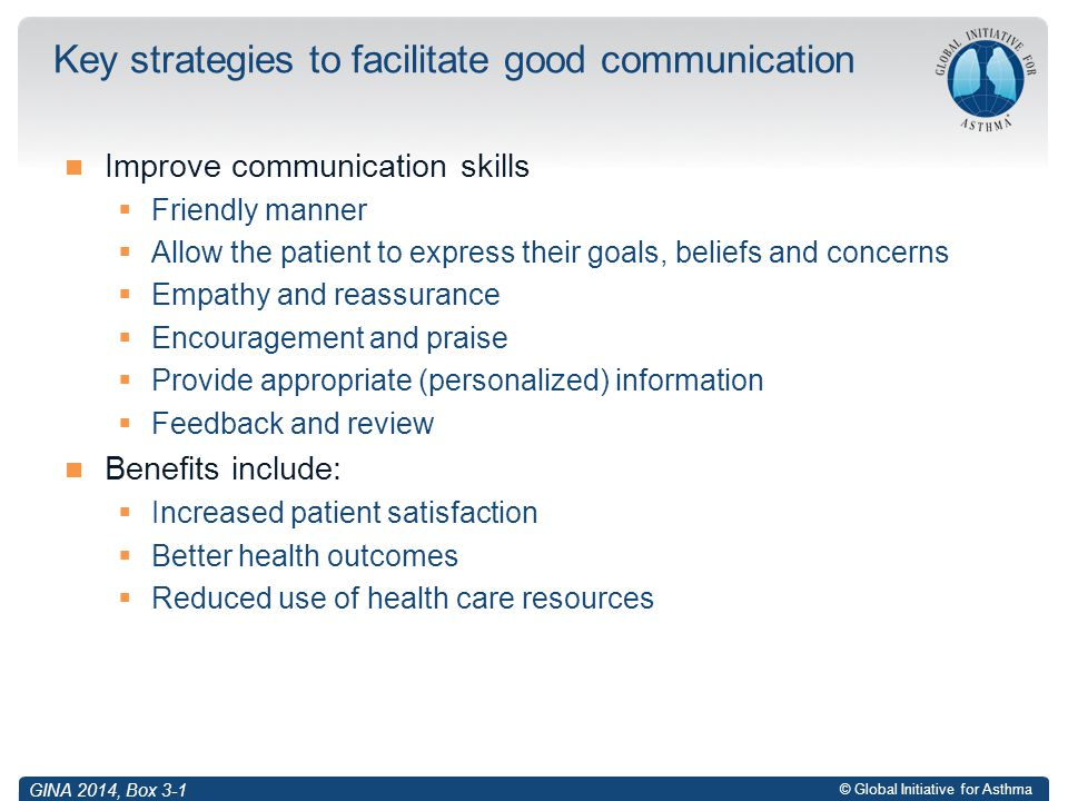 Key strategies to facilitate good communication