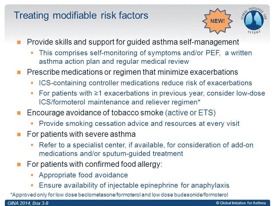 Treating modifiable risk factors