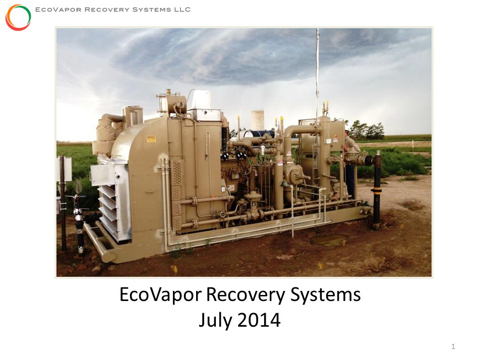 EcoVapor Recovery Systems