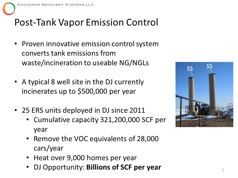 Post-Tank Vapor Emission Control