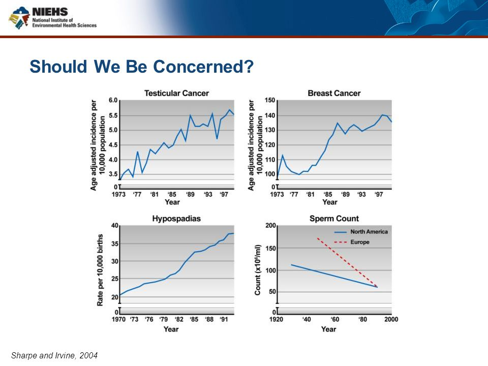 Should We Be Concerned Sharpe and Irvine, 2004