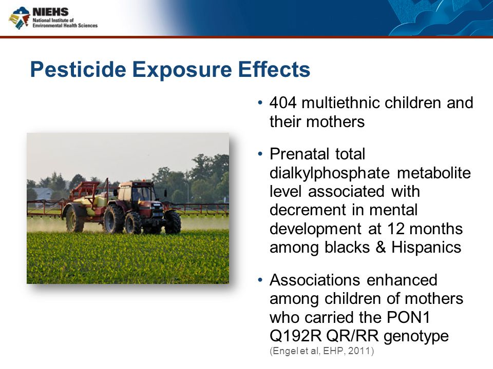 Pesticide Exposure Effects