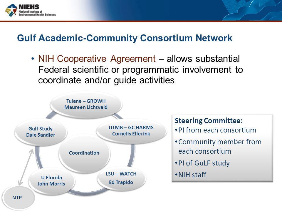 Gulf Academic-Community Consortium Network