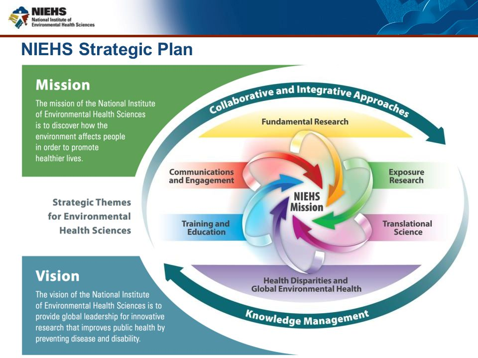 NIEHS Strategic Plan