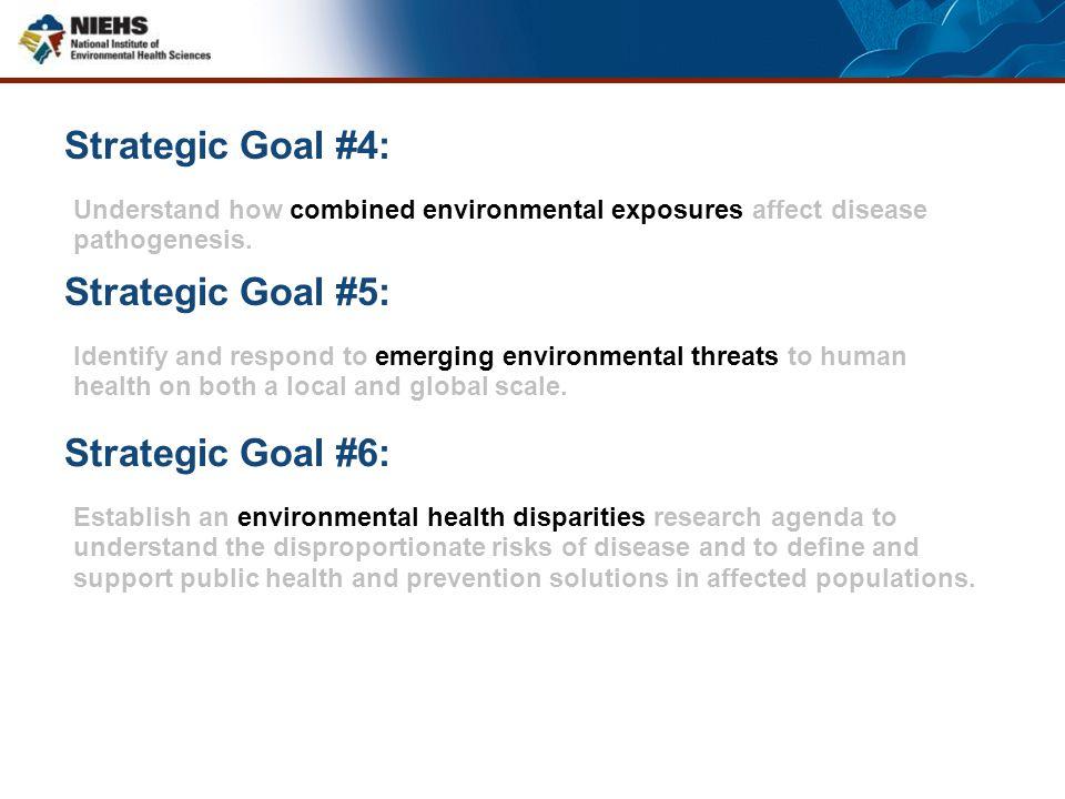 Strategic Goal #4: Strategic Goal #5: Strategic Goal #6: