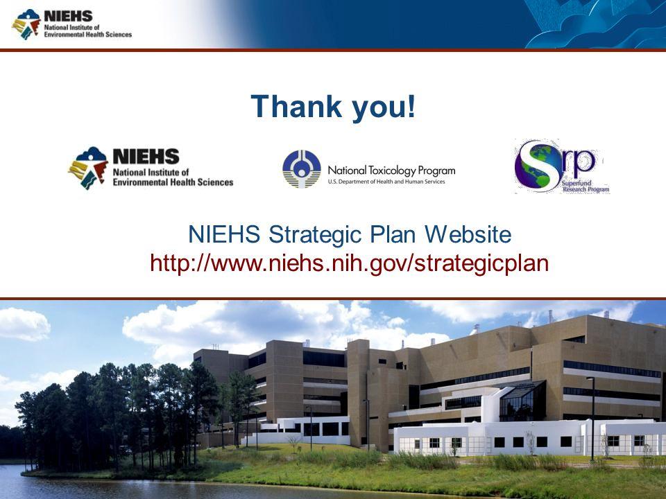 NIEHS Strategic Plan Website