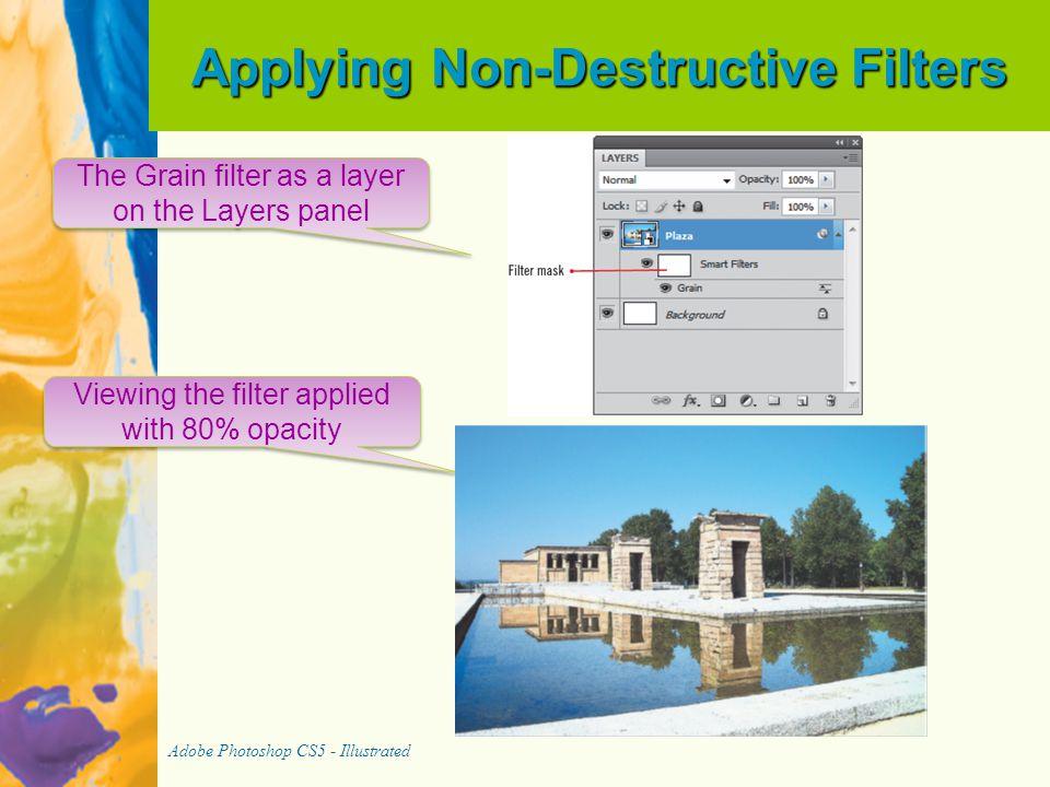 Applying Non-Destructive Filters