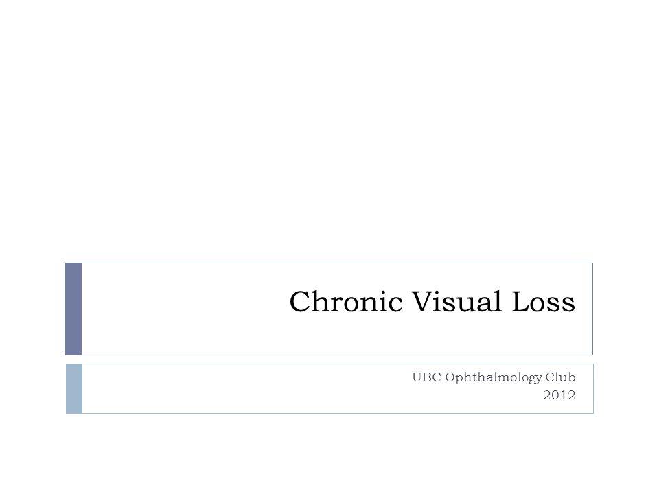UBC Ophthalmology Club 2012
