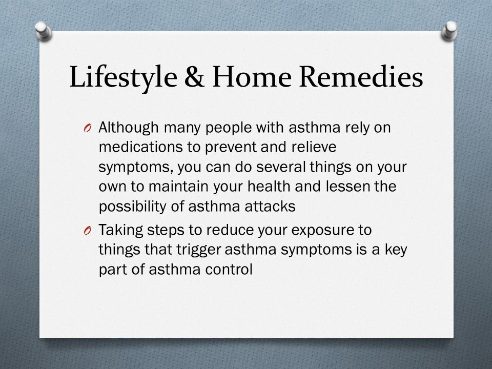 Lifestyle & Home Remedies