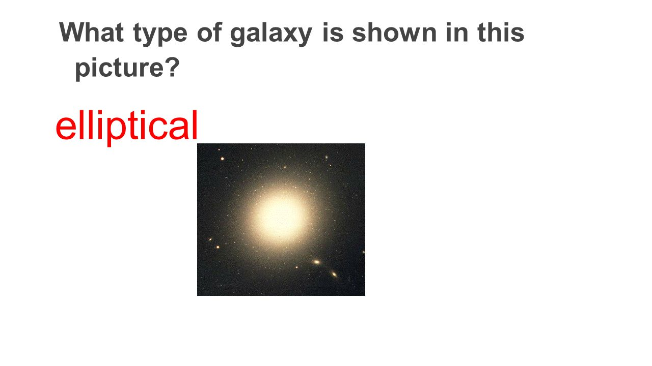 What type of galaxy is shown in this picture