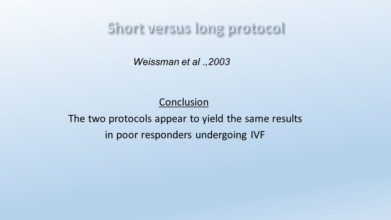 The two protocols appear to yield the same results