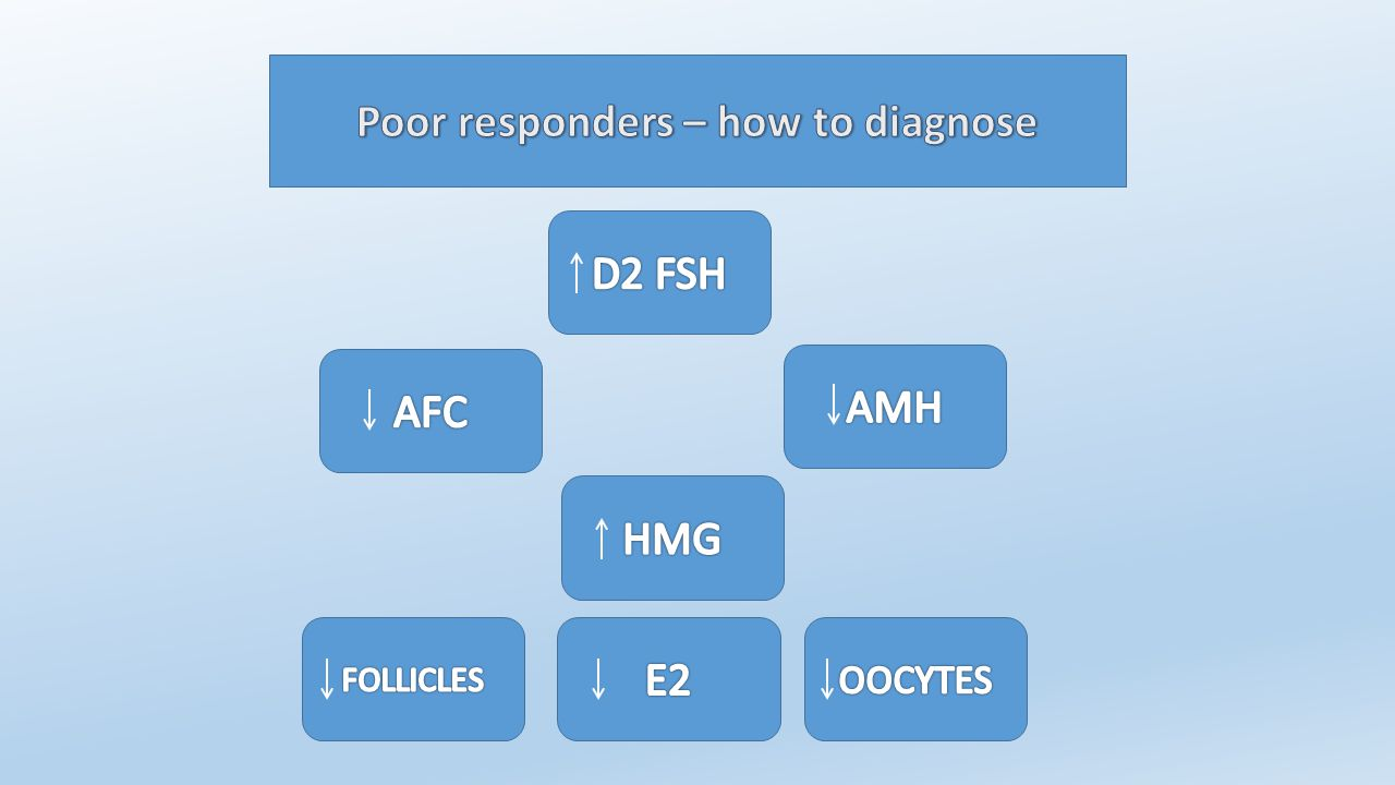 Poor responders – how to diagnose