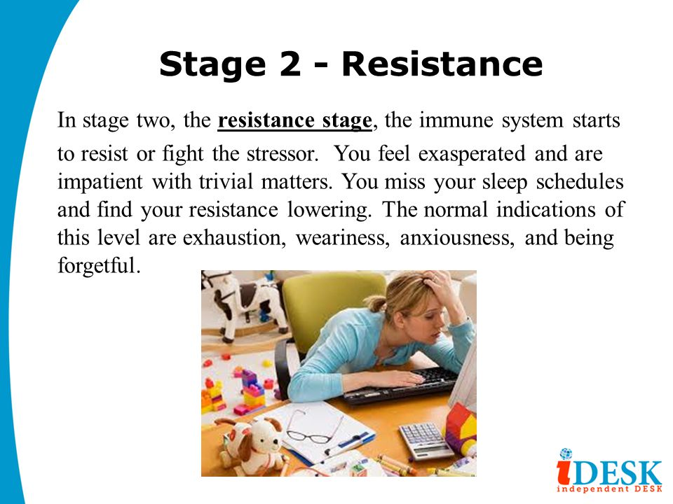 Stage 2 - Resistance