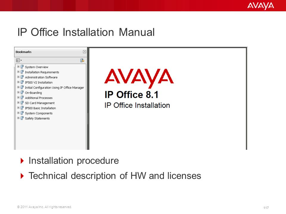 IP Office Installation Manual