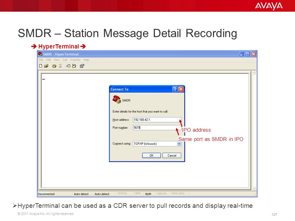 SMDR – Station Message Detail Recording