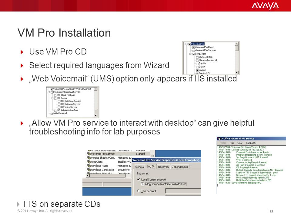 VM Pro Installation Use VM Pro CD