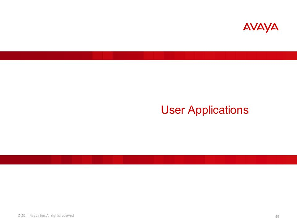 User Applications
