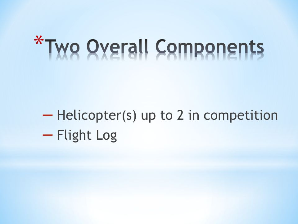 Two Overall Components