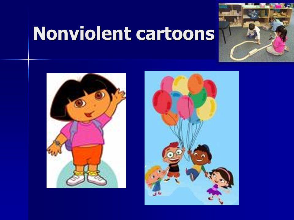 Nonviolent cartoons