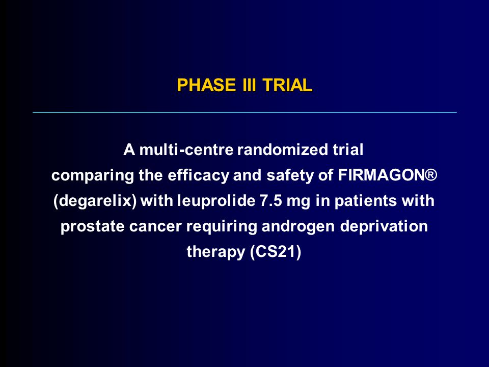 PHASE III TRIAL