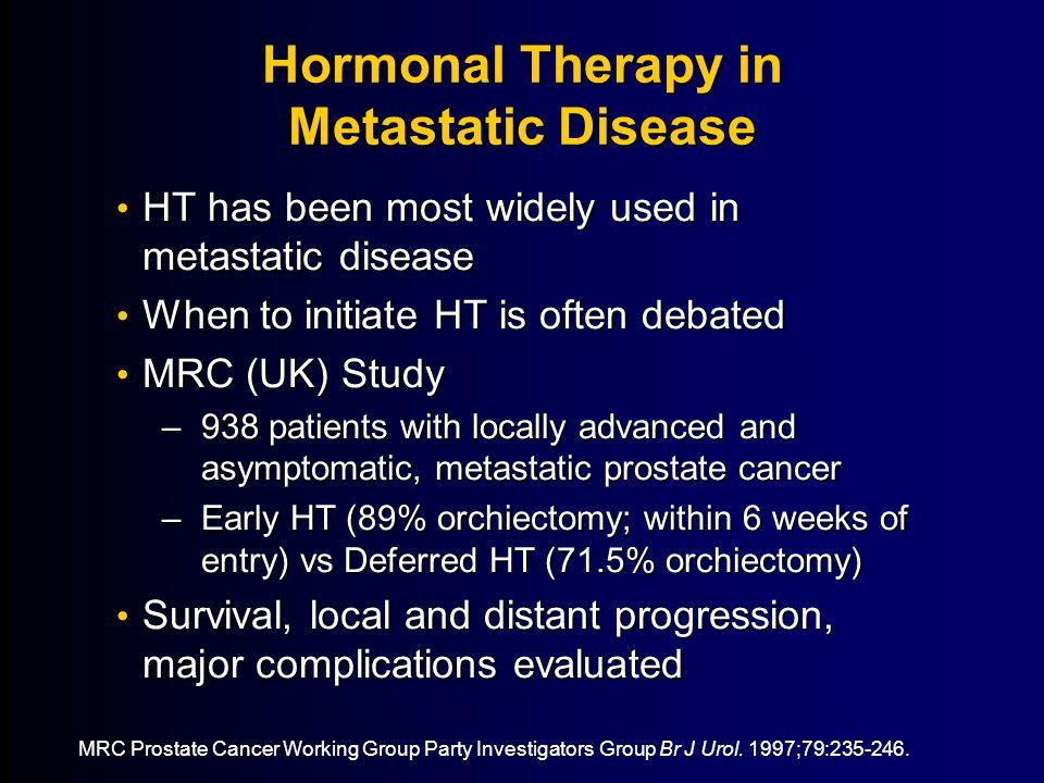Hormonal Therapy in Metastatic Disease
