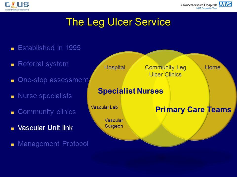 Community Leg Ulcer Clinics