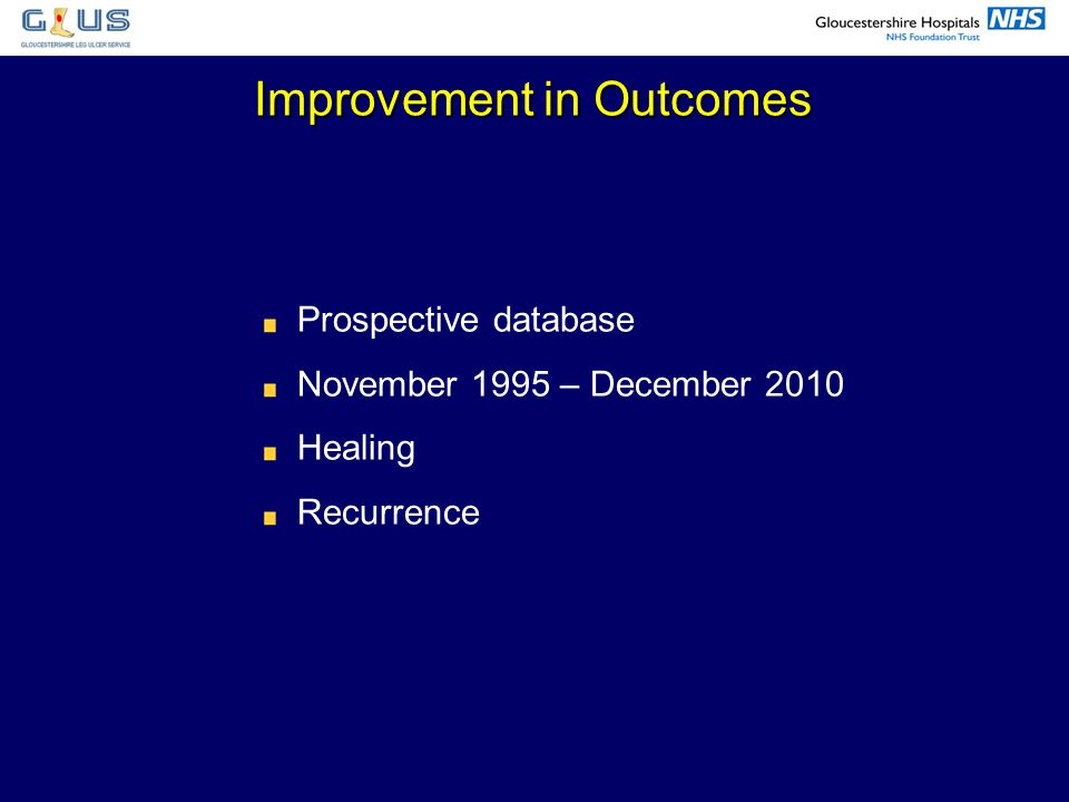 Improvement in Outcomes