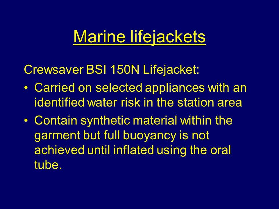 Marine lifejackets Crewsaver BSI 150N Lifejacket:
