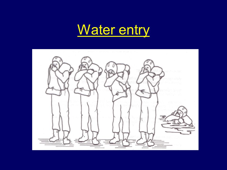 Water entry