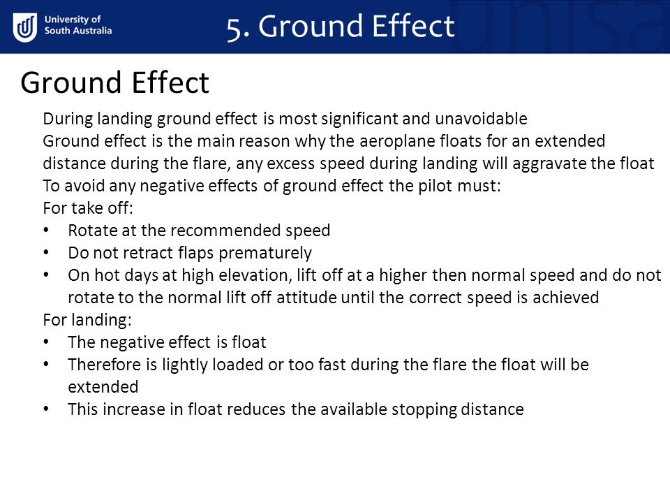 5. Ground Effect Ground Effect