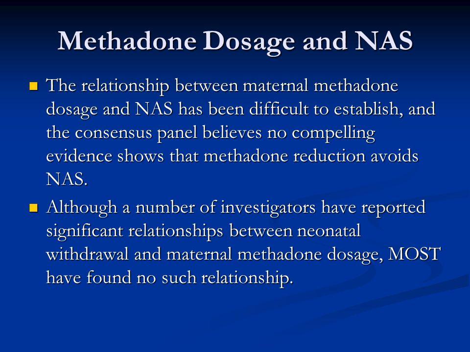 Methadone Dosage and NAS